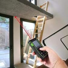 40m Digital Laser Distance Meter Measurer Area Volume Range Finder Tape Measure