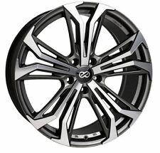 17x7.5 Enkei Rims VORTEX5 5x114.3 +40 Antrhracite Wheels (Set of 4)