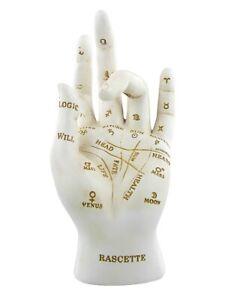 Palmistry Chriomancy Ornament Fortune Telling Hand Figurine