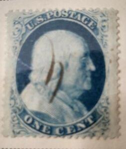 United States Scott # 24 used 1857