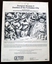 Dwellers of the Forbidden City I1 Dungeons & Dragons 1st TSR 9046