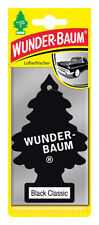 2 pcs Wunderbaum magic tree car air freshener BLACK CLASSIC
