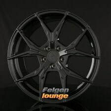 4 Cerchi in lega KESKIN kt19 ANGEL BLACK painted (BP) 8,5x19 et45 5x112 ml72, 6 NUOVO