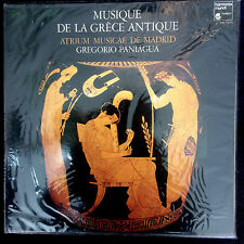 MUSIQUE DE LA GRECE ANTIQUE– PANIAGUA LP Harmonia Mundi HM1015 SEALED, TAS