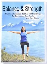 Balance & Strength Exercises For Seniors DVD 9 Practices Tai Chi/Yoga >NEW<