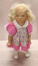 Götz Sylvia Natterer Puppe doll blonde Haare Fanouche 36 cm aus 1992