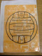 13/12/1980 BARNET V Peterborough United FA Cup []. eventuali difetti sono riportati in Brack