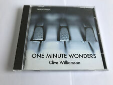 Clive Williamson : One Minute Wonders CD (2007) MINT 5060102250043