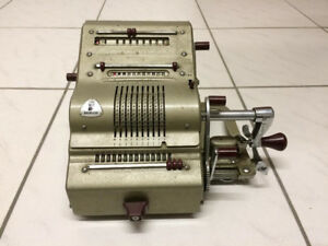 Mechanische Rechenmaschine Brunsviga