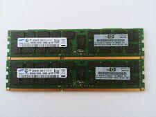 8Go (2x4Go) HP 500203-061 SAMSUNG M393B5170FH0-CH9Q5 2RX4 PC3-10600R DDR3