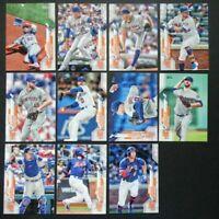 2020 Topps Series 2 New York Mets Base Team Set of 11 Baseball Cards