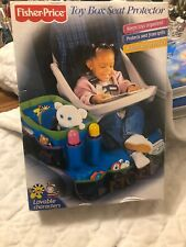 Fisher Price Toy Box Seat Protector 2001 Edition Proctects Seat & Organized Toys