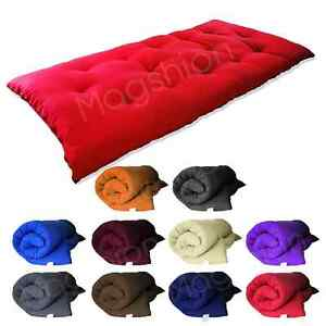 "Tatami Floor Mat(3""x27""x80"")Japanese/Rolling/Thai Bed/Mattresses 3"" Thick/Single"