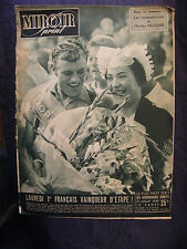 Miroir Sprint Julio 1950 Bicicleta Tour de Francia Lauredi