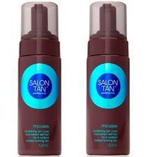 2 x SALON TAN PROFESSIONAL 120mL BRONZING MOUSSE 100% Brand New