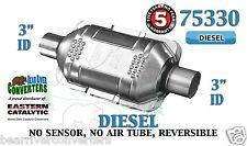 """75330 Eastern Universal Catalytic Converter Diesel Catalyst 3"""" Pipe 10"""" Body"""