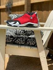 Nike Air Jordan 14 Retro 2020 Gym Red Toro 487471-006 Size 13