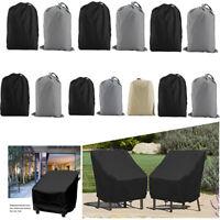 Outdoor Patio Furniture Cover Waterproof Rectangular Outdoor Rattan Table Cover