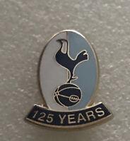 Rare & Old Tottenham Spurs Supporter Enamel Badge - 125 Year Anniversary (2007)