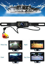 CMOS Car Vehicle Rear View Reverse Backup Camera Parking Night Vision Waterproof