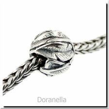 Authentic Trollbeads Sterling Silver 11337 Angel's Feathers, Silver :1