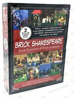 Brick Shakespeare : 4 Tragedies & 4 Comedies NEW & SEALED ~ Lim. Ed. POSTER