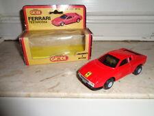 Modellino Ferrari Testarossa della Tekno Giodi funzionante a Batteria