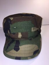 MILITARY CADET STYLE utility camouflage fitted cap / hat TYPE II, Class 2 Sz: M