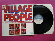 Vinyl LP 33T / Village People ‎– Village Peop / FR 1977 / 2M 026 64317 / VG+