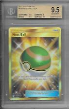 BGS 9.5 2017 Pokemon Sun & Moon 158/149 Nest Ball SCR