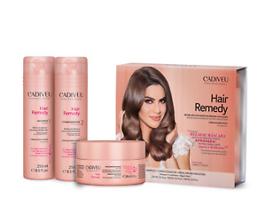 Cadiveu - Hair Remedy Home Care KIT NEW/SEALED With Box Set 3x Products = 700ml