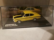 Opel Kadett B-Coupe (1965-1973), gelb, -1/43- Opel Collection-in BOX-