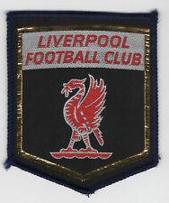 Original Vintage 1970s Sew On Patch Football Liverpool Cloth Badge Unused