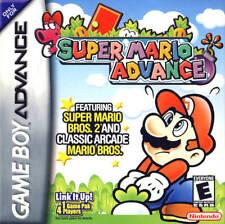 Super Mario Advance GBA Great Condition Fast Shipping