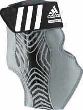 adidas Adizero Speedwrap Ankle Brace, Medium Lead/Black, Small
