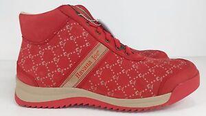 Havana Joe Men's Red Nubuck All Over Print Boots SL07C - BRAND NEW IN BOX!!