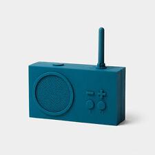 Lexon Tykho 3 Bluetooth Speaker w FM Radio New in Box Duck Blue LA119