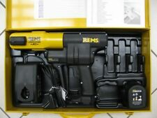 REMS-ELETTROIDRAULICA BATTERIA Press ACC Li-Ion PLUS N. 571014 idraulica con valigetta NUOVO