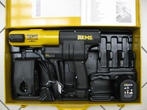 REMS-Pressmaschine Akku Press ACC Li-Ion Plus Nr. 571014 Sanitär mit Koffer Neu
