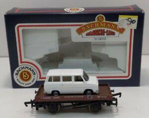 Bachmann 33-410 OO Scale Plank Wagon w/Ford Transit Van #B450023 LN/Box