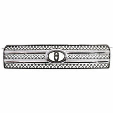 NEW GRILLE GRILL CHROME/BLACK FOR TOYOTA HIGHLANDER  TO1200296