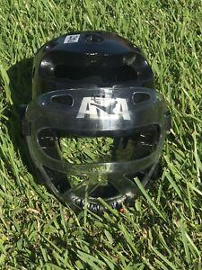 ATA Fighting MMA Macho SRG Black Head Gear Mask Padding Karate Spar Martial Art