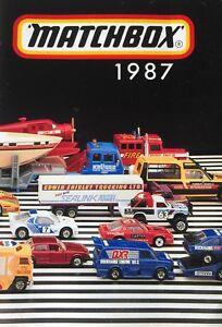 MATCHBOX TOYS POCKET CATALOGUE 1987 - uncirculated (original)