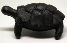 Stone Sculpture—5.3 oz Carving Green Serpentine Turtle, Gift, Home Decor
