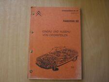 Reparaturanleitung Werkstatthandbuch Band 2 -  Citroen GS 1970-1973/74