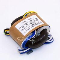 1PCS 30W R-CORE TRANSFORMER For Preamp / DAC / AMP 115V 230V OUTPUT:24V+24V