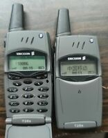 T28 Original Ericsson T28 T28s Mobile cell Phone 2G GSM 900/1800 Unlocked Black