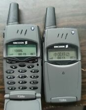 T28 Original Ericsson T28 T28s teléfono celular móvil 2G GSM Desbloqueado Negro 900/1800