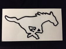 CFL CALGARY STAMPEDERS HORSE LOGO STICKER - HIGH QUALITY - LARGE