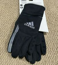 NEW Adidas Active Lifestyle Climawarm Thermal Running Gloves Men's M/L Black NWT